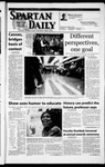 Spartan Daily, April 26, 2002 by San Jose State University, School of Journalism and Mass Communications