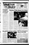 Spartan Daily, May 15, 2002 by San Jose State University, School of Journalism and Mass Communications