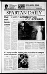 Spartan Daily, August 30, 2002 by San Jose State University, School of Journalism and Mass Communications