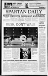 Spartan Daily, September 4, 2002 by San Jose State University, School of Journalism and Mass Communications