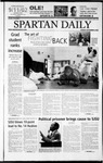 Spartan Daily, September 9, 2002 by San Jose State University, School of Journalism and Mass Communications