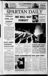 Spartan Daily, September 12, 2002 by San Jose State University, School of Journalism and Mass Communications