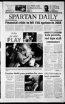 Spartan Daily, September 19, 2002 by San Jose State University, School of Journalism and Mass Communications