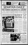 Spartan Daily, September 26, 2002 by San Jose State University, School of Journalism and Mass Communications
