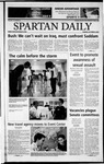 Spartan Daily, October 8, 2002 by San Jose State University, School of Journalism and Mass Communications