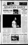 Spartan Daily, October 22, 2002 by San Jose State University, School of Journalism and Mass Communications