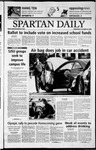Spartan Daily, October 23, 2002 by San Jose State University, School of Journalism and Mass Communications