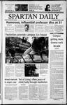 Spartan Daily, October 24, 2002 by San Jose State University, School of Journalism and Mass Communications