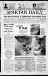 Spartan Daily, October 25, 2002 by San Jose State University, School of Journalism and Mass Communications