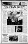 Spartan Daily, October 28, 2002 by San Jose State University, School of Journalism and Mass Communications