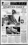 Spartan Daily, November 1, 2002 by San Jose State University, School of Journalism and Mass Communications