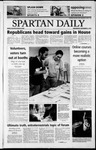 Spartan Daily, November 6, 2002 by San Jose State University, School of Journalism and Mass Communications