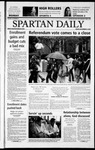 Spartan Daily, November 8, 2002 by San Jose State University, School of Journalism and Mass Communications