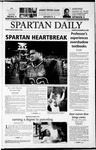 Spartan Daily, November 25, 2002 by San Jose State University, School of Journalism and Mass Communications