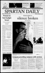 Spartan Daily, December 3, 2002 by San Jose State University, School of Journalism and Mass Communications
