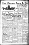 Spartan Daily, October 25, 1943 by San Jose State University, School of Journalism and Mass Communications