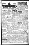 Spartan Daily, November 3, 1943 by San Jose State University, School of Journalism and Mass Communications