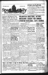 Spartan Daily, November 9, 1943 by San Jose State University, School of Journalism and Mass Communications