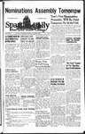 Spartan Daily, October 9, 1944 by San Jose State University, School of Journalism and Mass Communications