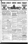 Spartan Daily, October 27, 1944 by San Jose State University, School of Journalism and Mass Communications