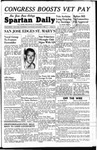 Spartan Daily, February 4, 1948 by San Jose State University, School of Journalism and Mass Communications