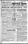 Spartan Daily, October 20, 1948 by San Jose State University, School of Journalism and Mass Communications