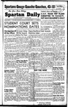 Spartan Daily, October 25, 1948 by San Jose State University, School of Journalism and Mass Communications