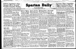 Spartan Daily, January 19, 1949 by San Jose State University, School of Journalism and Mass Communications