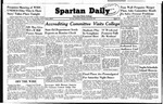 Spartan Daily, January 20, 1949 by San Jose State University, School of Journalism and Mass Communications