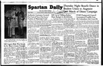 Spartan Daily, January 25, 1949 by San Jose State University, School of Journalism and Mass Communications