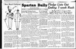 Spartan Daily, January 26, 1949 by San Jose State University, School of Journalism and Mass Communications