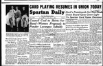 Spartan Daily, February 1, 1949 by San Jose State University, School of Journalism and Mass Communications