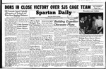 Spartan Daily, February 14, 1949 by San Jose State University, School of Journalism and Mass Communications