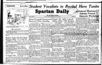 Spartan Daily, February 15, 1949 by San Jose State University, School of Journalism and Mass Communications