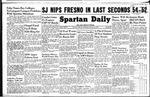 Spartan Daily, February 16, 1949 by San Jose State University, School of Journalism and Mass Communications