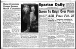 Spartan Daily, February 17, 1949 by San Jose State University, School of Journalism and Mass Communications