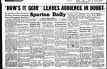 Spartan Daily, February 24, 1949 by San Jose State University, School of Journalism and Mass Communications