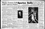 Spartan Daily, February 25, 1949 by San Jose State University, School of Journalism and Mass Communications