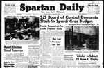 Spartan Daily, March 1, 1949 by San Jose State University, School of Journalism and Mass Communications