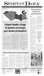 Spartan Daily February 22, 2011