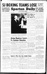 Spartan Daily, April 4, 1949 by San Jose State University, School of Journalism and Mass Communications