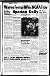 Spartan Daily, April 11, 1949