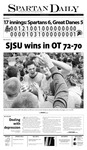 Spartan Daily February 24, 2011 by San Jose State University, School of Journalism and Mass Communications