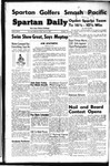 Spartan Daily, April 22, 1949 by San Jose State University, School of Journalism and Mass Communications