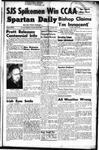 Spartan Daily, May 9, 1949 by San Jose State University, School of Journalism and Mass Communications