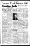 Spartan Daily, October 3, 1949