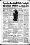 Spartan Daily, October 13, 1949