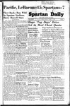 Spartan Daily, October 31, 1949 by San Jose State University, School of Journalism and Mass Communications