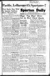 Spartan Daily, October 31, 1949