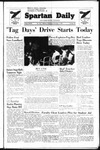 Spartan Daily, November 2, 1949 by San Jose State University, School of Journalism and Mass Communications